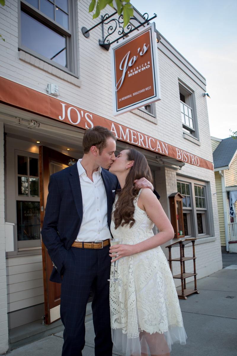 happy-couple-date-jos-american-bistro-wedding-reception-newport-ri-exterior-sign