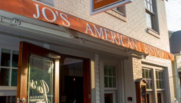 Jo's American Bistro in Newport, Rhode Island serving fresh seafood and a variety of gluten-free options