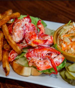 Jo's American Bistro in Newport, Rhode Island Lobster Roll
