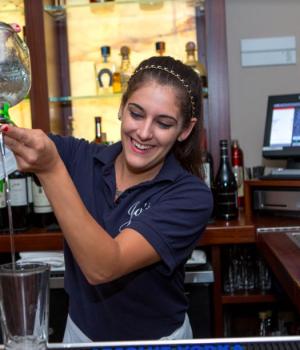Jo's American Bistro in Newport, Rhode Island Bar Tender